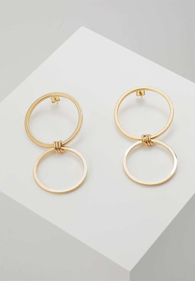 cloverpost - CASTLE EARRINGS - Earrings - yellow gold-coloured