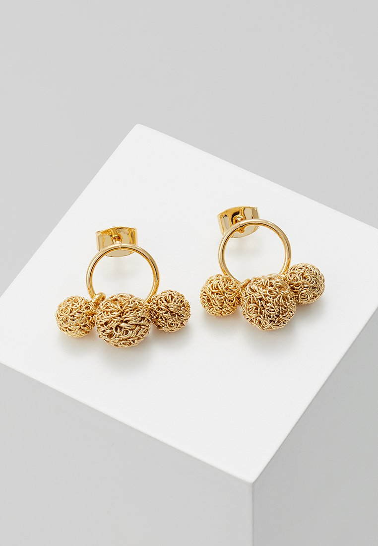 cloverpost - POWDER EARRINGS - Ohrringe - yellow gold-coloured