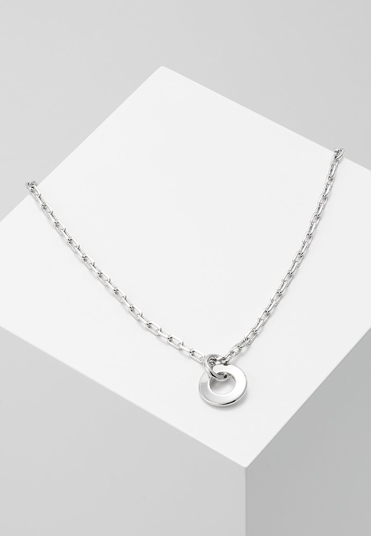 cloverpost - HARVEST NECKLACE - Kaulakoru - white gold-coloured