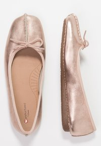 Clarks Unstructured - FRECKLE ICE - Ballerina's - rose gold - 3