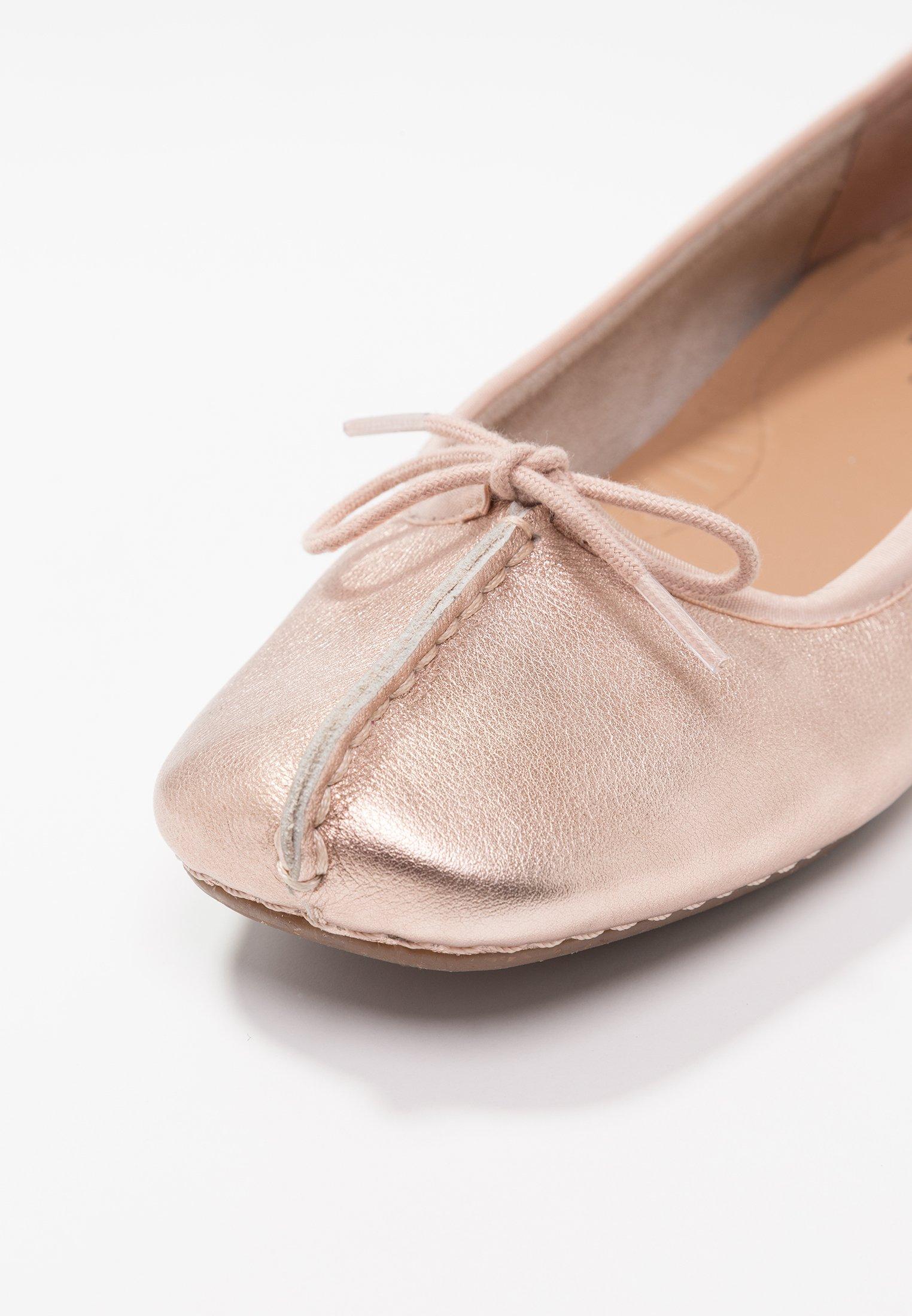 FRECKLE ICE Klassischer Ballerina rose gold