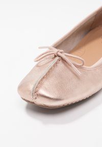 Clarks Unstructured - FRECKLE ICE - Ballerina's - rose gold - 2
