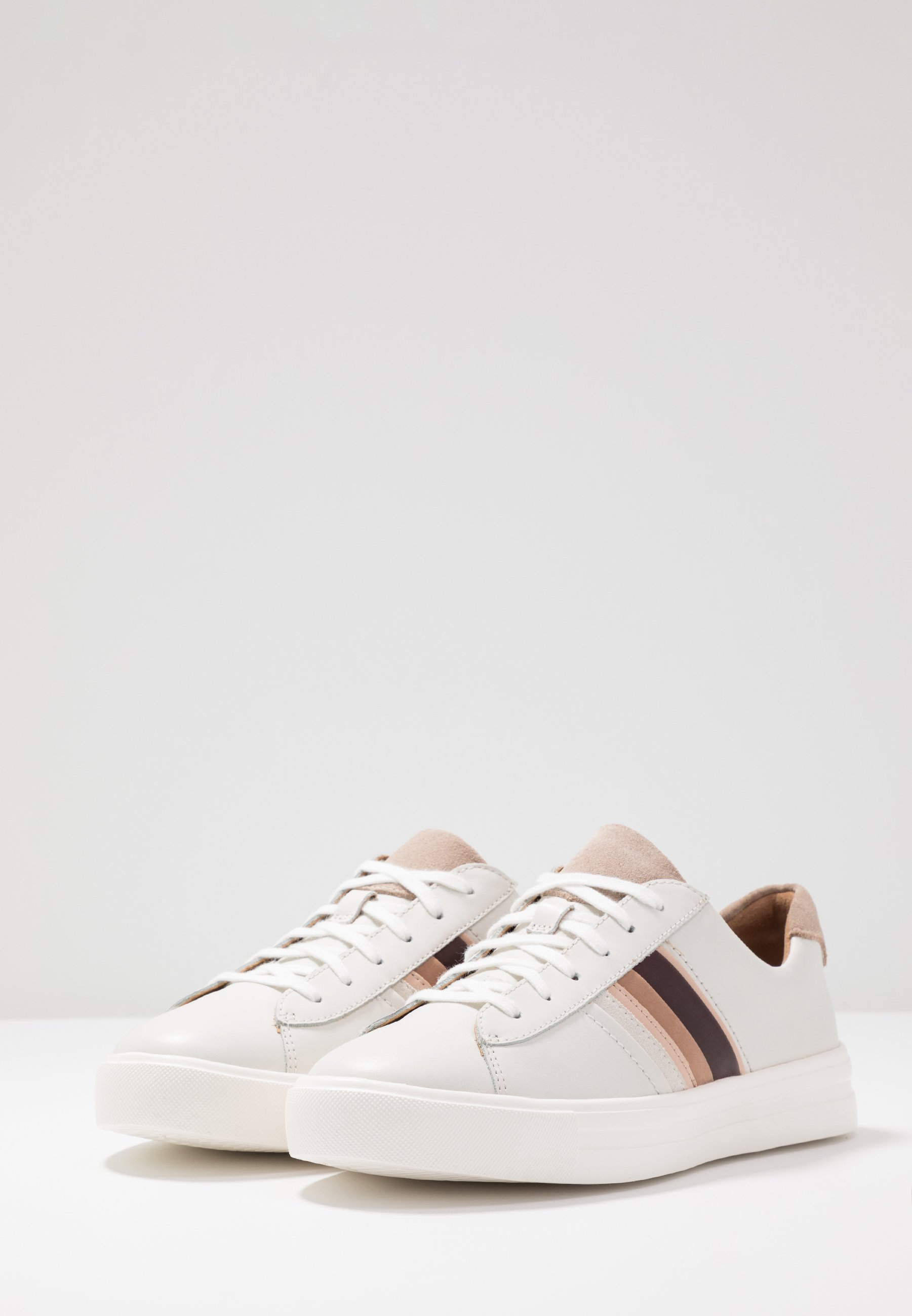 Clarks Unstructured MAUI BAND - Sneakers - white/blush
