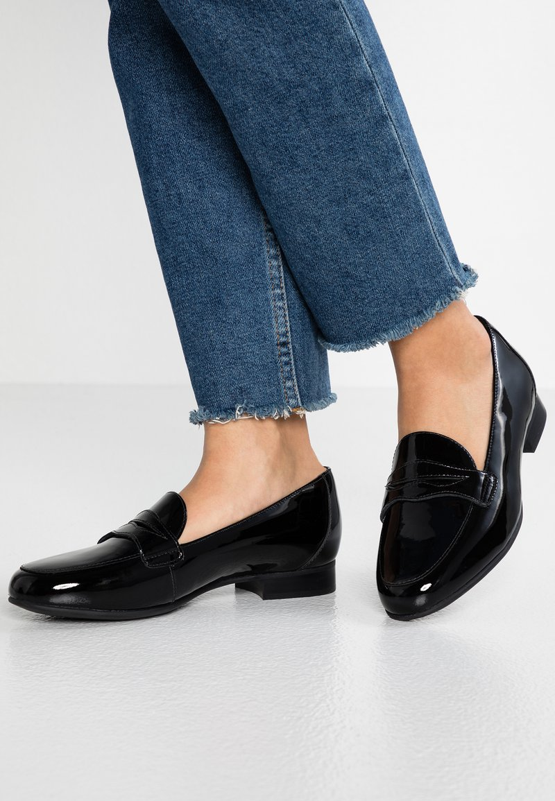 Clarks Unstructured - BLUSH GO - Loafers - black
