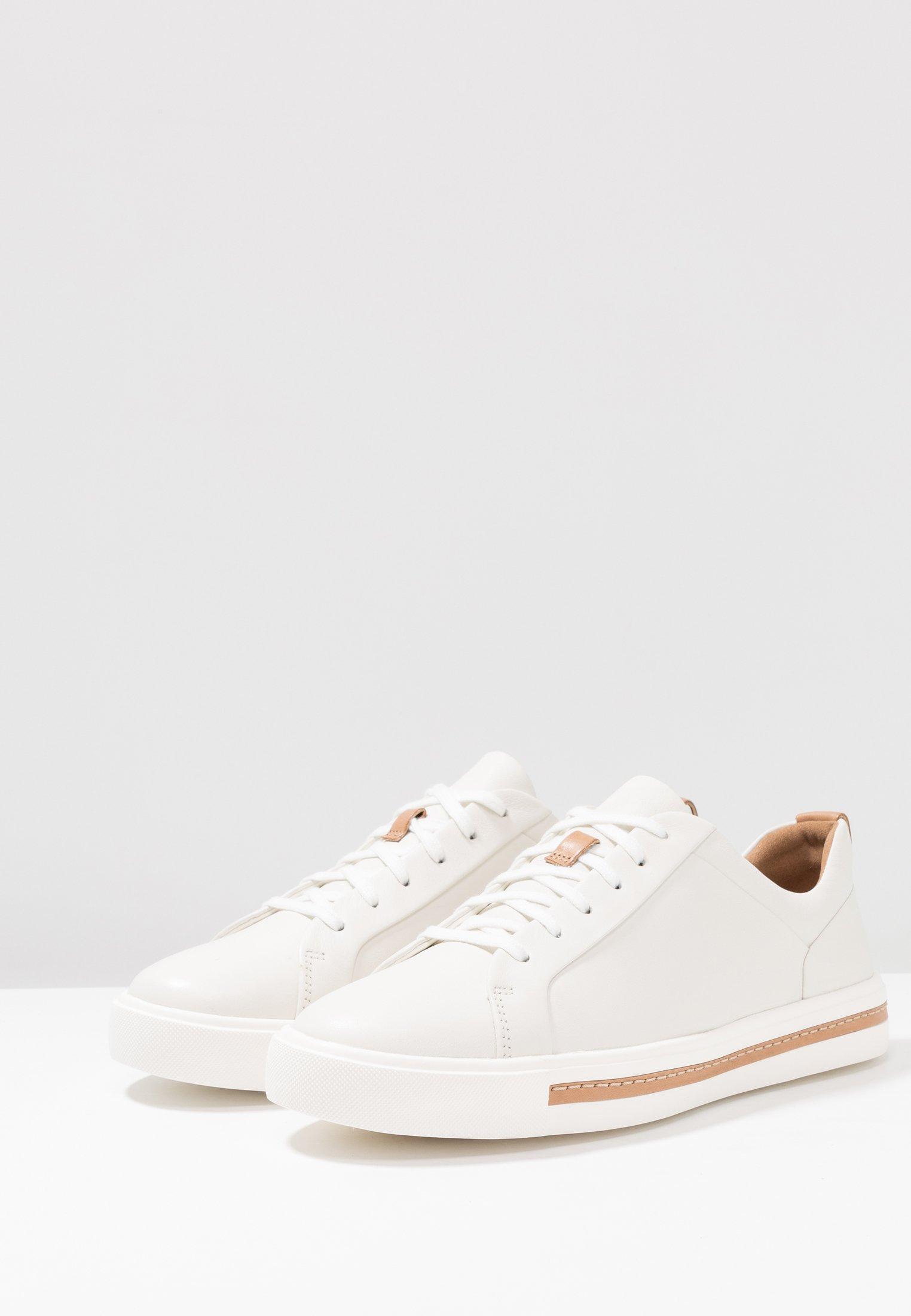 Clarks Maui Basses LaceBaskets Un Unstructured White Tlc1JFK3