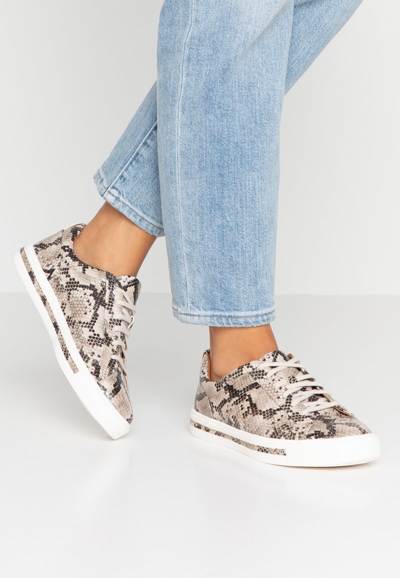 Clarks Unstructured - UN MAUI LACE - Sneakers - natural