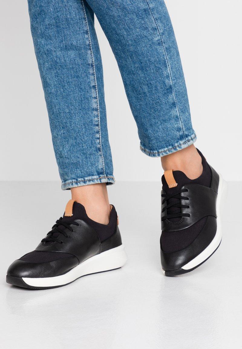 Clarks Unstructured - UN RIO LACE - Sneaker low - black