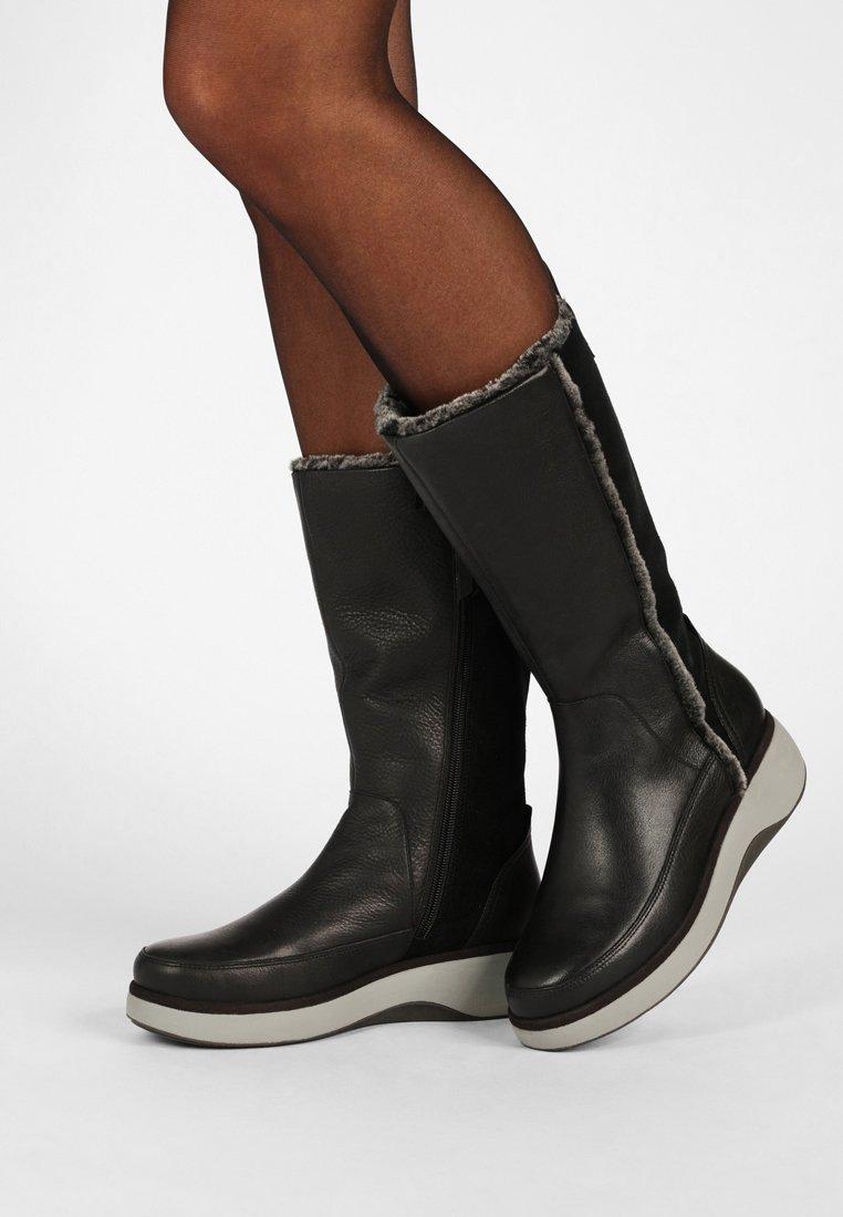 Clarks Unstructured - UN VISTA  - Vinterstøvler - black
