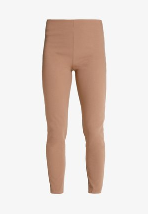 GIRL BOSS TROUSERS - Leggings - camel