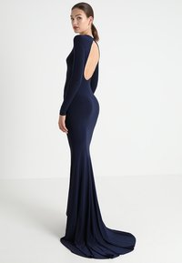 Club L London - OPEN BACK FISHTAIL DRESS - Iltapuku - navy - 0