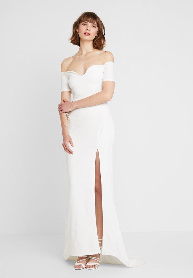 Sukienka koktajlowa - white