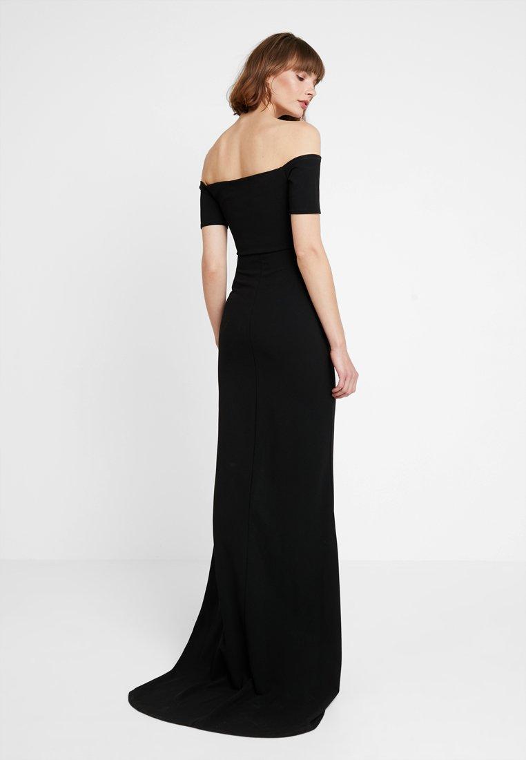 Club L London Sukienka koktajlowa - black