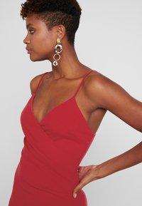 Club L London - Denní šaty - red - 5