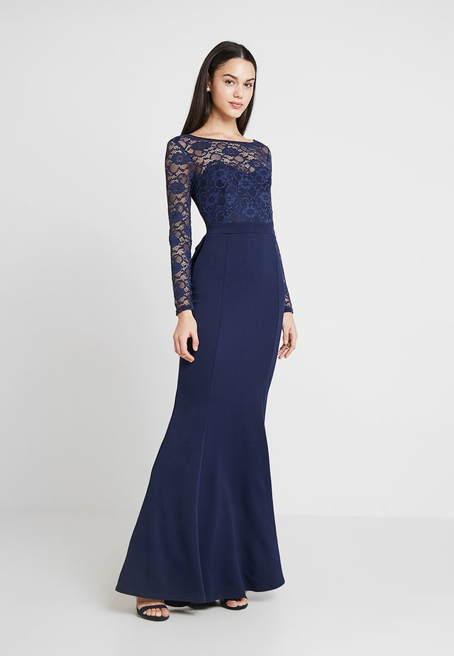 BRIDESMAID BOW BACK DETAIL DRESS - Ballkleid - navy