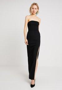 Club L London - TAILORED DRESS - Długa sukienka - black - 0