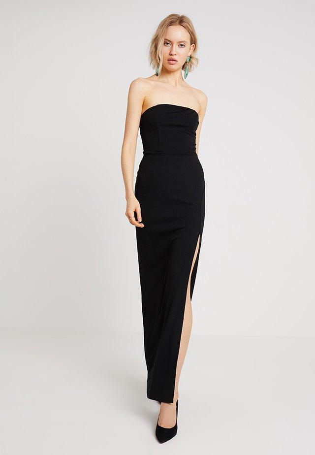TAILORED DRESS - Maxi-jurk - black