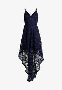 Club L London - DIP HEM STRAPPY DRESS - Suknia balowa - navy - 5