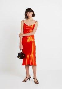 Club L London - COWL NECK DRESS - Robe d'été - orange - 2