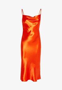 Club L London - COWL NECK DRESS - Robe d'été - orange - 4