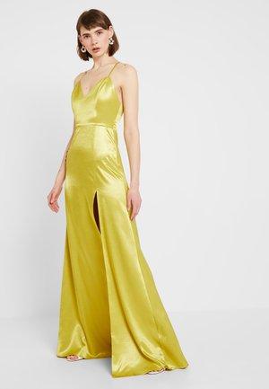 MAXI DRESS - Společenské šaty - chartreuse