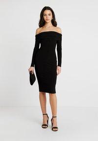 Club L London - Denní šaty - black - 2