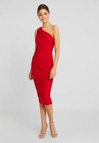 Club L London - Day dress - red - 1