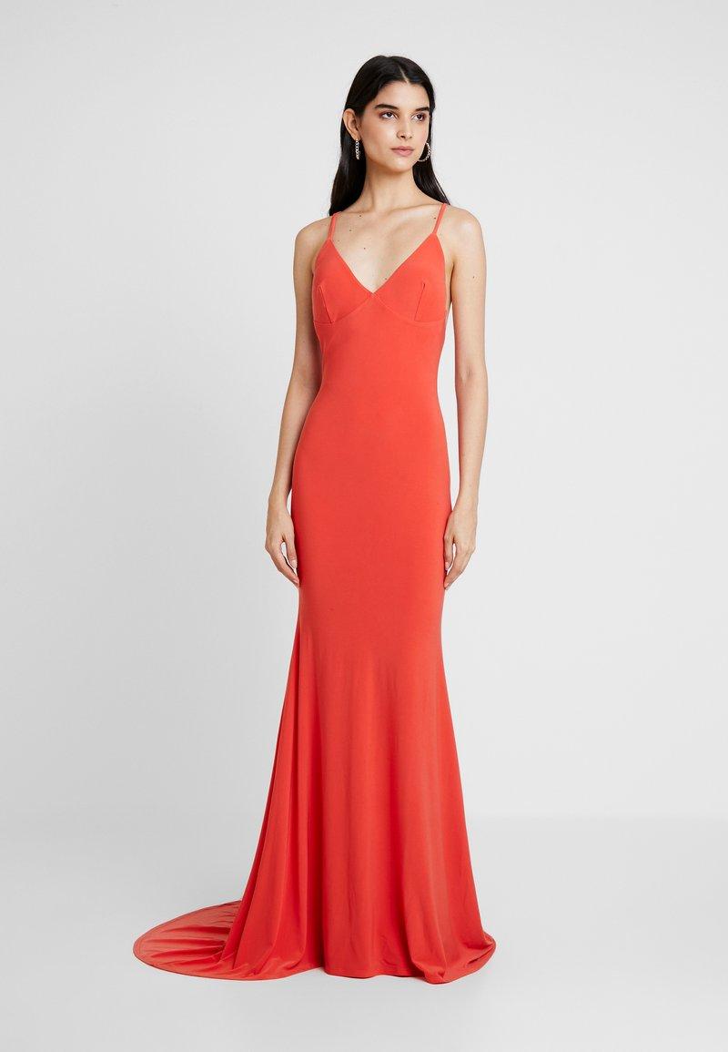 Club L London - CAMI FISHTAIL MAXI DRESS - Vestido de fiesta - orange