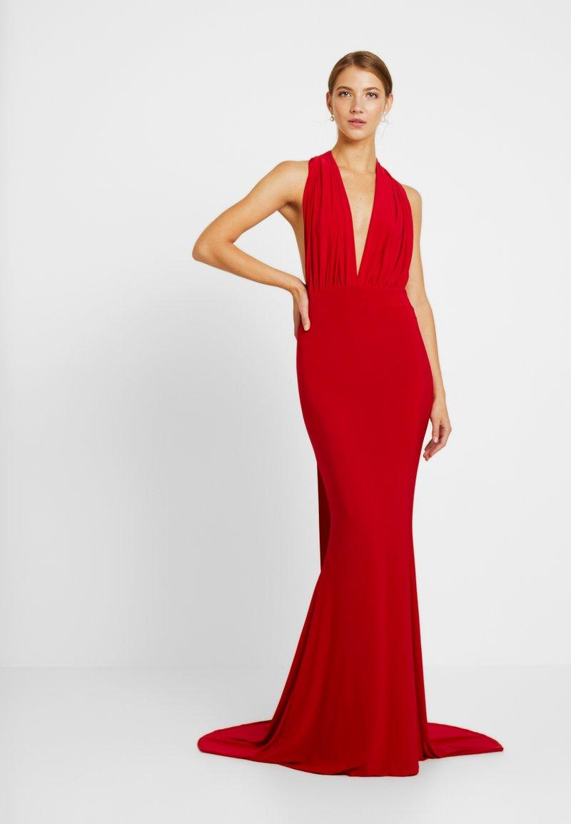 Club L London - MULTIWAY FISHTAIL MAXI DRESS - Occasion wear - red
