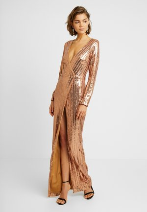 Robe de cocktail - bronze