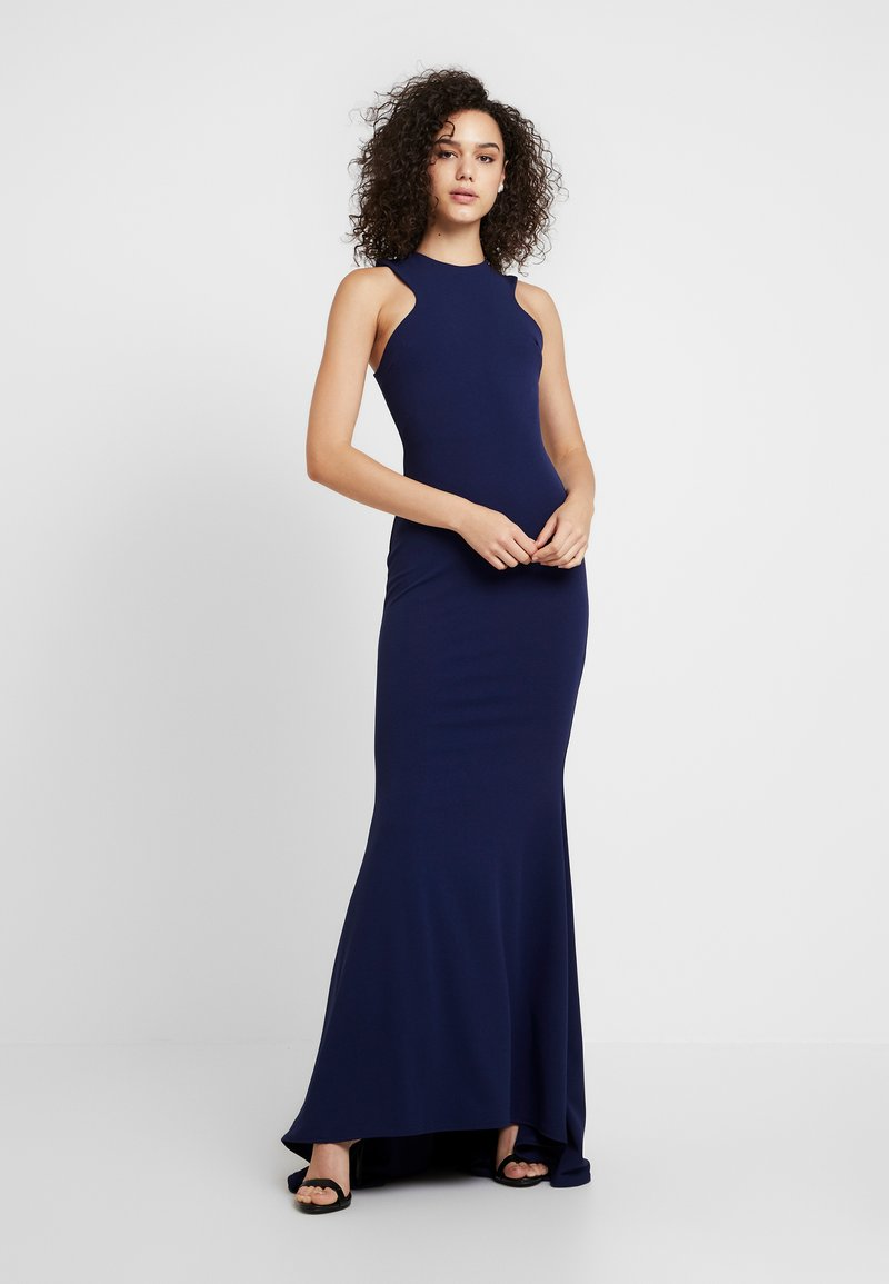 Club L London - FISHTAIL MAXI DRESS - Occasion wear - navy
