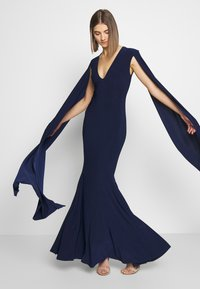 Club L London - CAPE SLEEVE FISHTAIL - Occasion wear - navy - 4