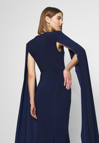 Club L London - CAPE SLEEVE FISHTAIL - Occasion wear - navy - 3