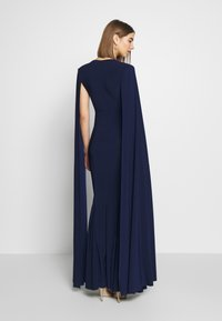 Club L London - CAPE SLEEVE FISHTAIL - Occasion wear - navy - 2