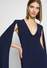 Club L London - CAPE SLEEVE FISHTAIL - Occasion wear - navy - 6