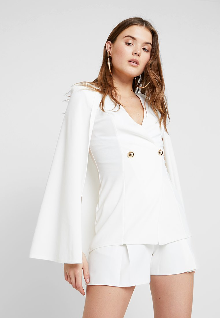 Club L London - GIRL BOSS - Blazer - white