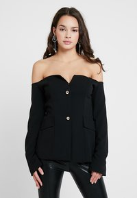 Club L London - BARDOT V DETAIL - Blazere - black - 0