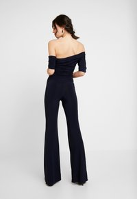 Club L London - ASYMMELTRIC - Overal - navy - 2