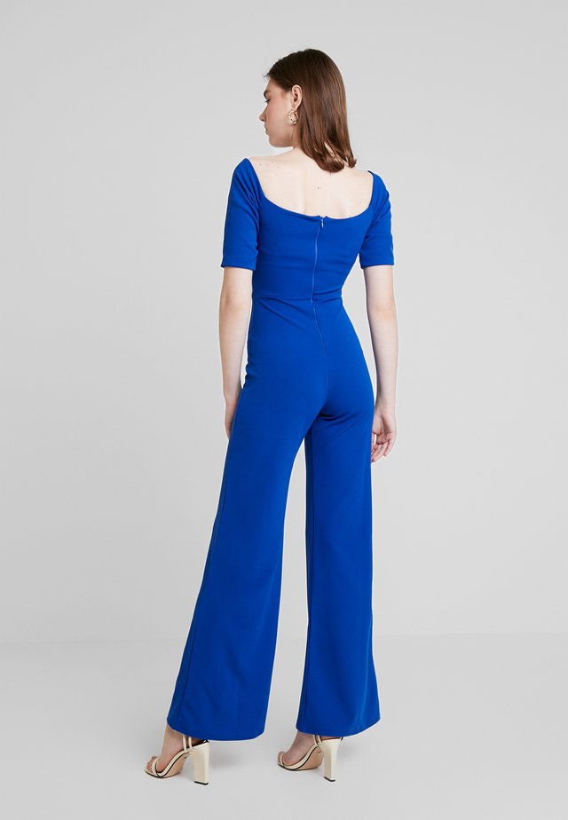 Jumpsuit - cobalt blue