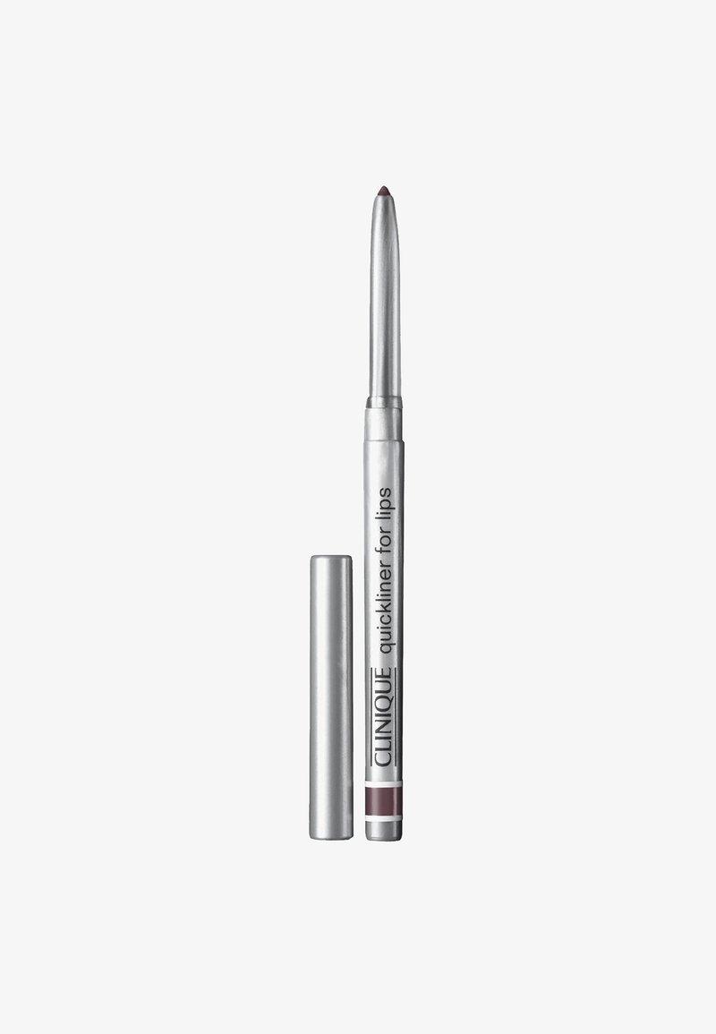 Clinique - QUICKLINER FOR LIPS - Lippenkonturenstift - 07 plummy
