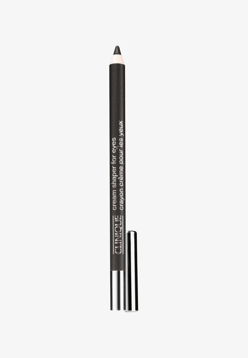 Clinique - CREAM SHAPER FOR EYES - Eyeliner - 01 black diamond