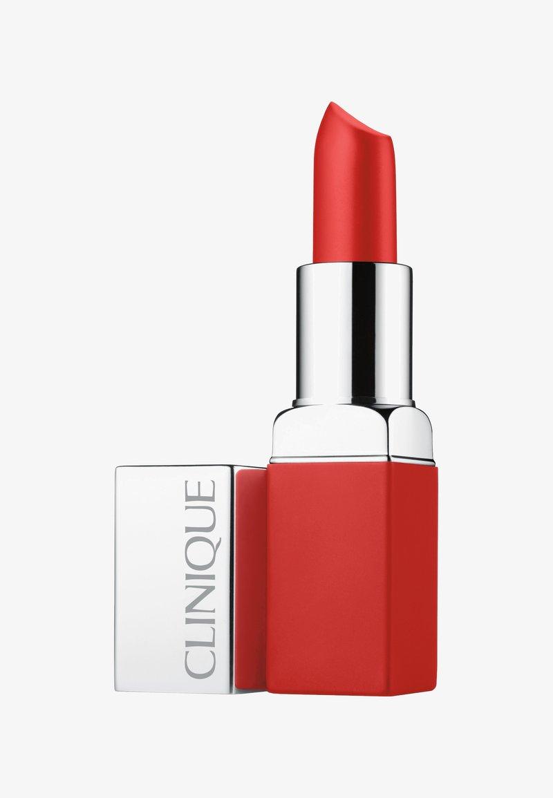 Clinique - POP MATTE LIP COLOUR + PRIMER - Rouge à lèvres - 03 ruby pop