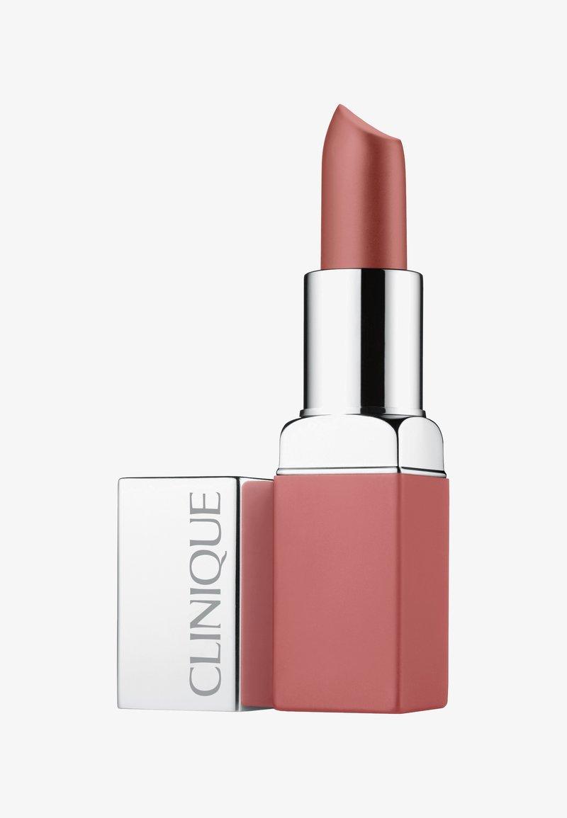 Clinique - POP MATTE LIP COLOUR + PRIMER - Lippenstift - 01 blushing pop