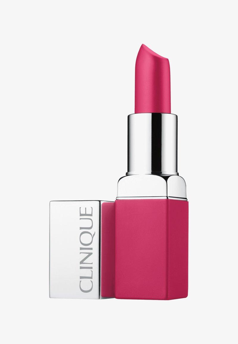 Clinique - POP MATTE LIP COLOUR + PRIMER - Lippenstift - 06 rose pop
