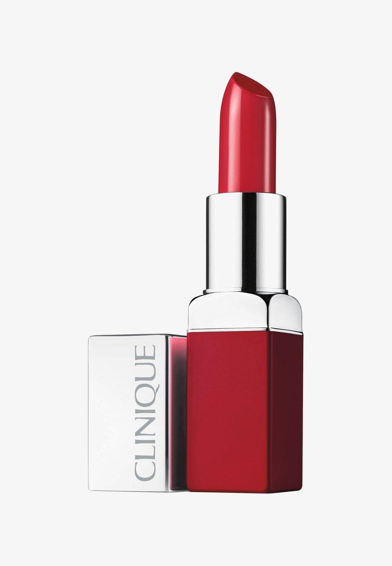 Clinique - POP LIP COLOUR & PRIMER - Lippenstift - 08 cherry pop