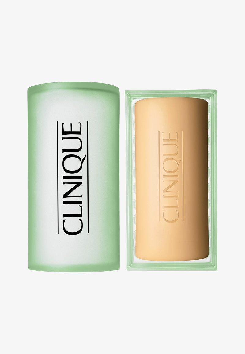 Clinique - FACIAL SOAP MIT SCHALE OILY SKIN FORMULA 100G - Seife - -
