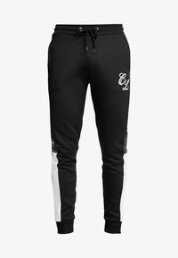 CLOSURE London - SIDE PANELLED - Pantalones deportivos - white/black - 3