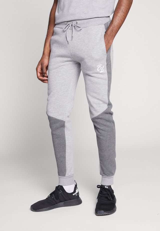 TWO TONE JOGGER - Verryttelyhousut - grey