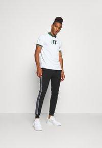 CLOSURE London - CUT SEW CHECKED JOGGER - Teplákové kalhoty - black - 1