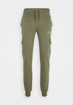 UTILITY JOGGER - Teplákové kalhoty - khaki