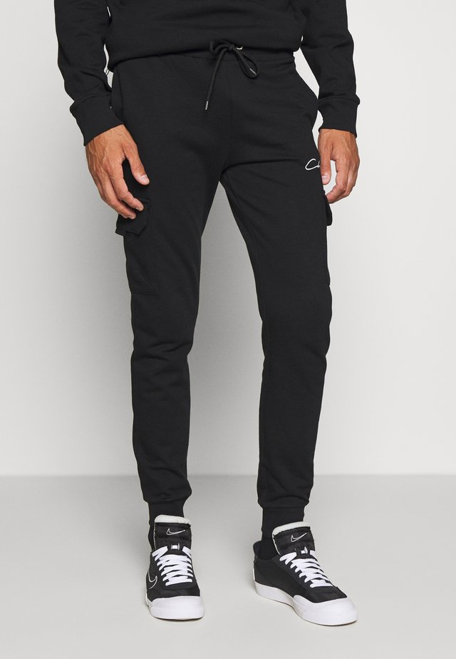 UTILITY JOGGER - Tracksuit bottoms - black